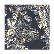Metallic Floral Roll Wrap - 2m